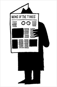 Jean Jullien News of the Times