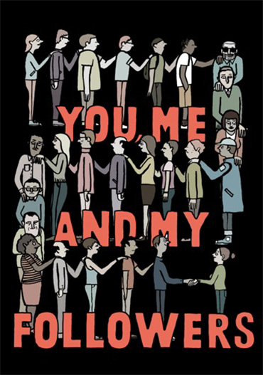 Jean Jullien You Me and My Followers