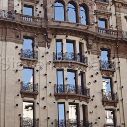 Windows In Barcelona by Steven Oshatz