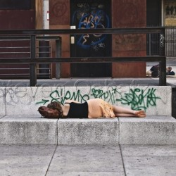 Sleeping Outside The Sofia by Steven Oshatz