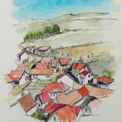 French Village by The Cannon Art Studio
