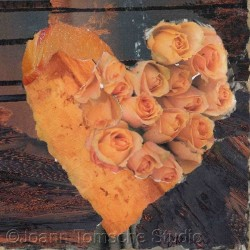 Dune Roses art tile by Joann Tomsche Studio