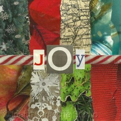 Joy art tile by Joann Tomsche Studio