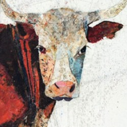Cow (detail) by Hetty Baiz