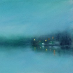 2750 Reflections in Blue by Dannielle Mick