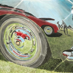 Carrera Chrome by Automotive Art By Richard Lewis