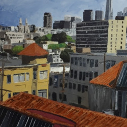 Red Roofs by Soenke Fine Art