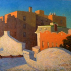 Evening Light (Above 30th Street) by Steven E. Walker Fine Art