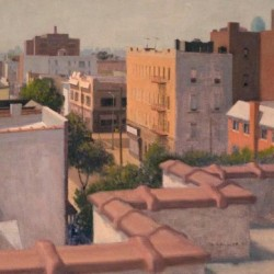 Saturday Morning Roofscape by Steven E. Walker Fine Art