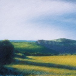 Near Conques, #1 (Cat. No. 413) by Merrilee Drakulich Contemporary Paintings