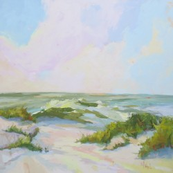 Beachwalker Park | oil on canvas by Marissa Vogl