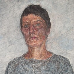 Portrait in Grey Sweater, 2004 by Slawek Gora