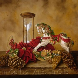 Waiting for Christmas by Lynn Carlson Artist In Oils