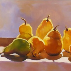 The Pear Family by Jill See Fine Art