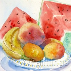 Mixed Fruit by Pamela Locicero