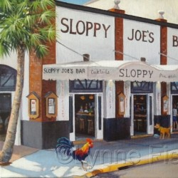 Sloppy Joe's Bar by Lynne Fischer Studios