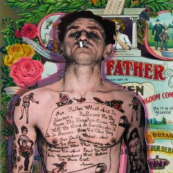 THE MAN WITH THE LORD'S PRAYER TATTOO by Peter J. Ketchum