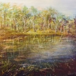 Remains of an Autumn Day by Susan Abell Art