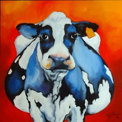 MY FAT COW by Marcia Baldwin
