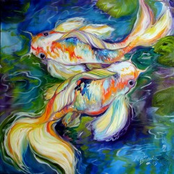 DANCE of the KOI by M BALDWIN by Marcia Baldwin