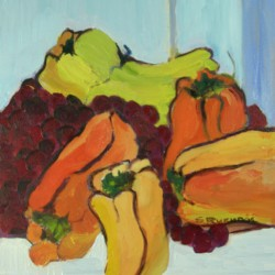Peppers1 by Silvia Rutledge