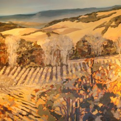 Winter Vineyard IV by Silvia Rutledge