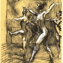 Four Dancers by Frank Stack
