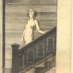 Descending Stairs by Frank Stack