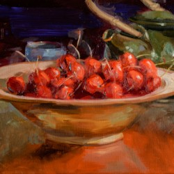 Tea and Cherries by Brenda Hendrix