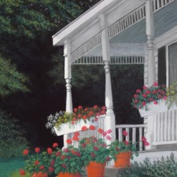A Summer's Welcome by Denice Peters  Pastel Artist