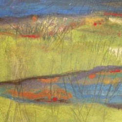 Spring Landscape by Rosemary Curtin