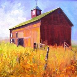 Barns Past-A Study, Durham, CT by Aleta Gudelski