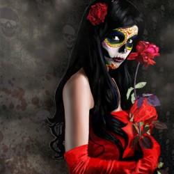 Sugarskull in Satin Gloves by Art Of Jon Jones
