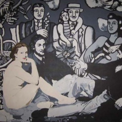 Picnic (after Manet and Leger) by Salvatore Gulino