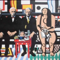 The Couch (after Leger) by Salvatore Gulino