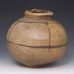 Wood-Fired Round Vessel 1 by David Hill