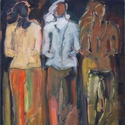 Women Walking Tall # 12 by June Kellogg