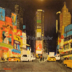 Times Square by Rina Thaler