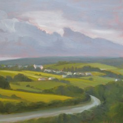 Road to Ballycastle by Tracy Baker-white