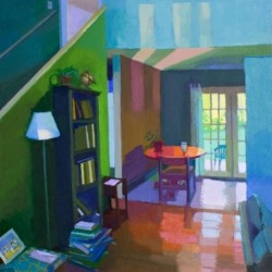 View of Back Porch by Jennifer Oconnell