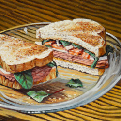 Ham and Salami Sandwich by Kenneth P. Cobb