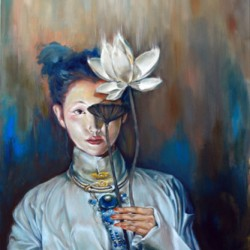 Another Life by Dallas Based Artist: Wenli Liu