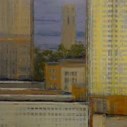City Blocks / Coit by Alan Mazzetti