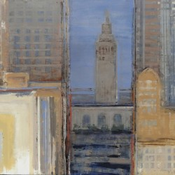 City Blocks / Ferry Building by Alan Mazzetti