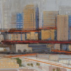 City Lines / 3rd Street by Alan Mazzetti