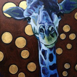 Day 14 - Giraffe by Kathryn Wronski