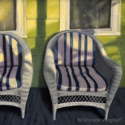 Two Chairs by Rebecca Clare Wagstaff