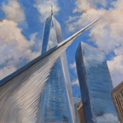 Freedom Tower by Rosanne Kaloustian