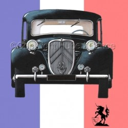 Citroen Traction Avant (Flag #1) by Hubert Cance