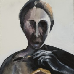 Self-portrait, 2006 by Dasha Shkurpela
